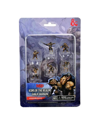 Dungeons & Dragons Fantasy Miniatures: Icons of the Realms Goblin Warband - Linebreakers