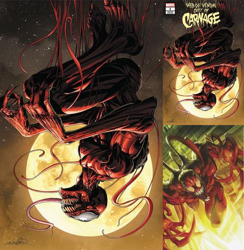 Web Of Venom: Cult Of Carnage #1 Exclusive 3 Pack