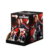 Load image into Gallery viewer, MARVEL HEROCLIX BLACK WIDOW MOVIE COUNTER DISPLAY (24CT)