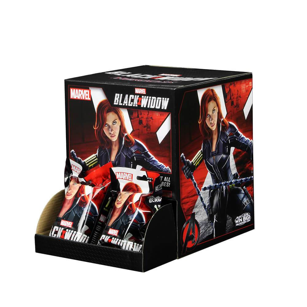 MARVEL HEROCLIX BLACK WIDOW MOVIE COUNTER DISPLAY (24CT)