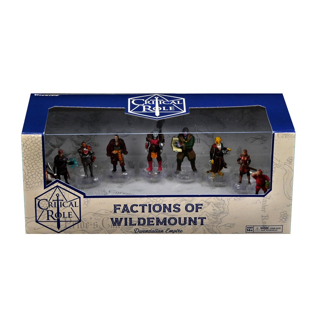 CRITICAL ROLE MINIS WILDEMOUNT DWENDALIAN SET    *