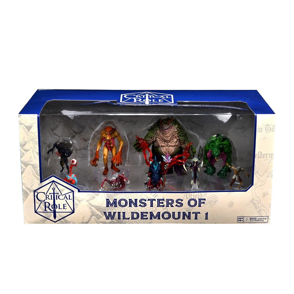 CRITICAL ROLE MINIS MONSTERS OF WILDEMOUNT 1 BOX SET    *