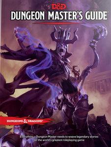 DUNGEONS & DRAGONS: Dungeon Master's Guide 5E