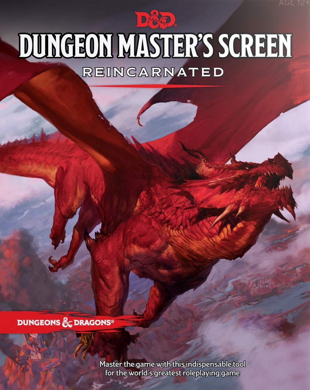 DUNGEONS & DRAGONS: Dungeon Master's Screen Reincarnated 5E