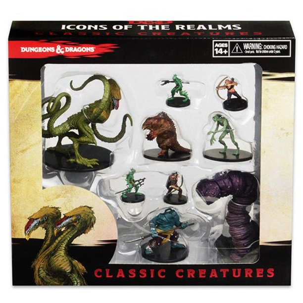 D&D ICONS OF THE REALMS CLASSIC CREATURES