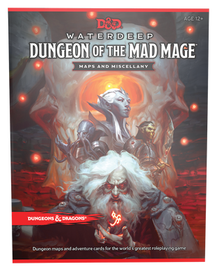 DUNGEONS & DRAGONS: Waterdeep Dungeon of the Mad Mage MAPS 5E