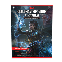 Load image into Gallery viewer, DUNGEONS & DRAGONS: Guildmasters' Guide to Ravnica MAPS 5E