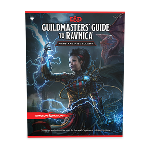 DUNGEONS & DRAGONS: Guildmasters' Guide to Ravnica MAPS 5E