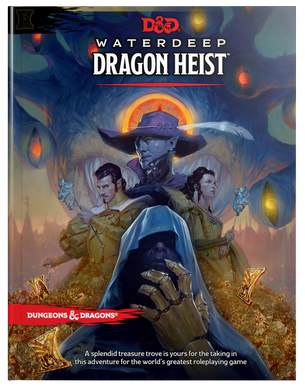 DUNGEONS & DRAGONS: Waterdeep Dragon Heist  5E