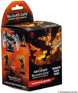D&D ICONS OF THE REALMS BALDUR'S GATE DESCENT INTO AVERNUS BOX (1CT) - Linebreakers