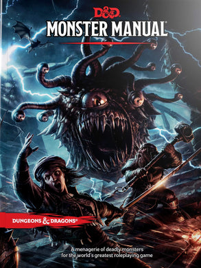 DUNGEONS & DRAGONS: Monter Manual 5E