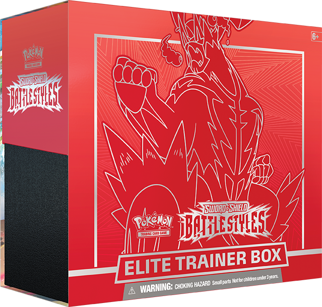 Battle Styles Elite Trainer Box [Single Strike Urshifu] (Red) - Linebreakers