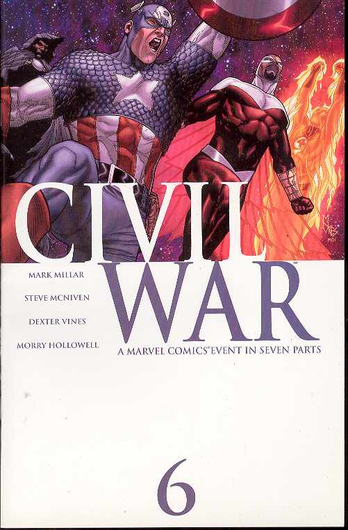 CIVIL WAR #6 Of(7)