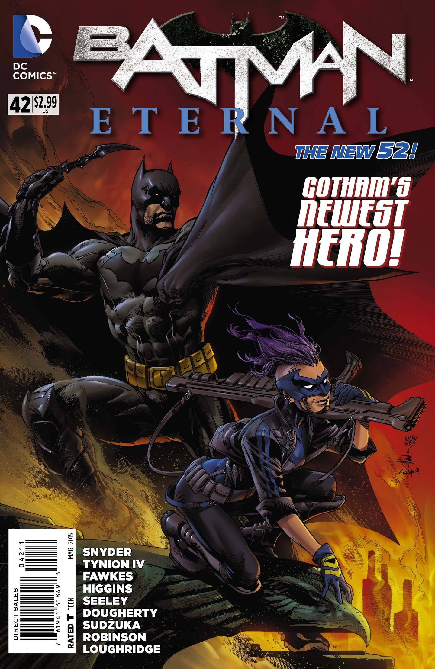 BATMAN ETERNAL #42
