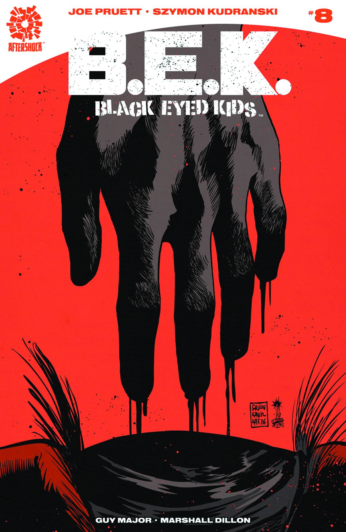 BLACK EYED KIDS #8 (MR)