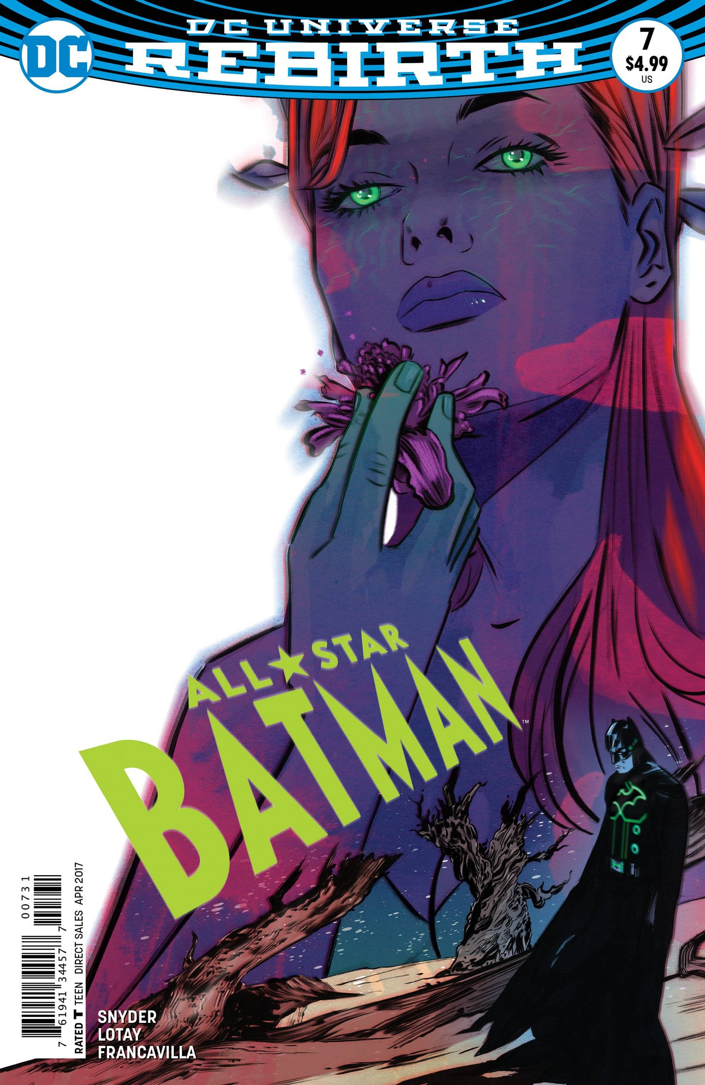ALL STAR BATMAN #7 LOTAY VAR ED