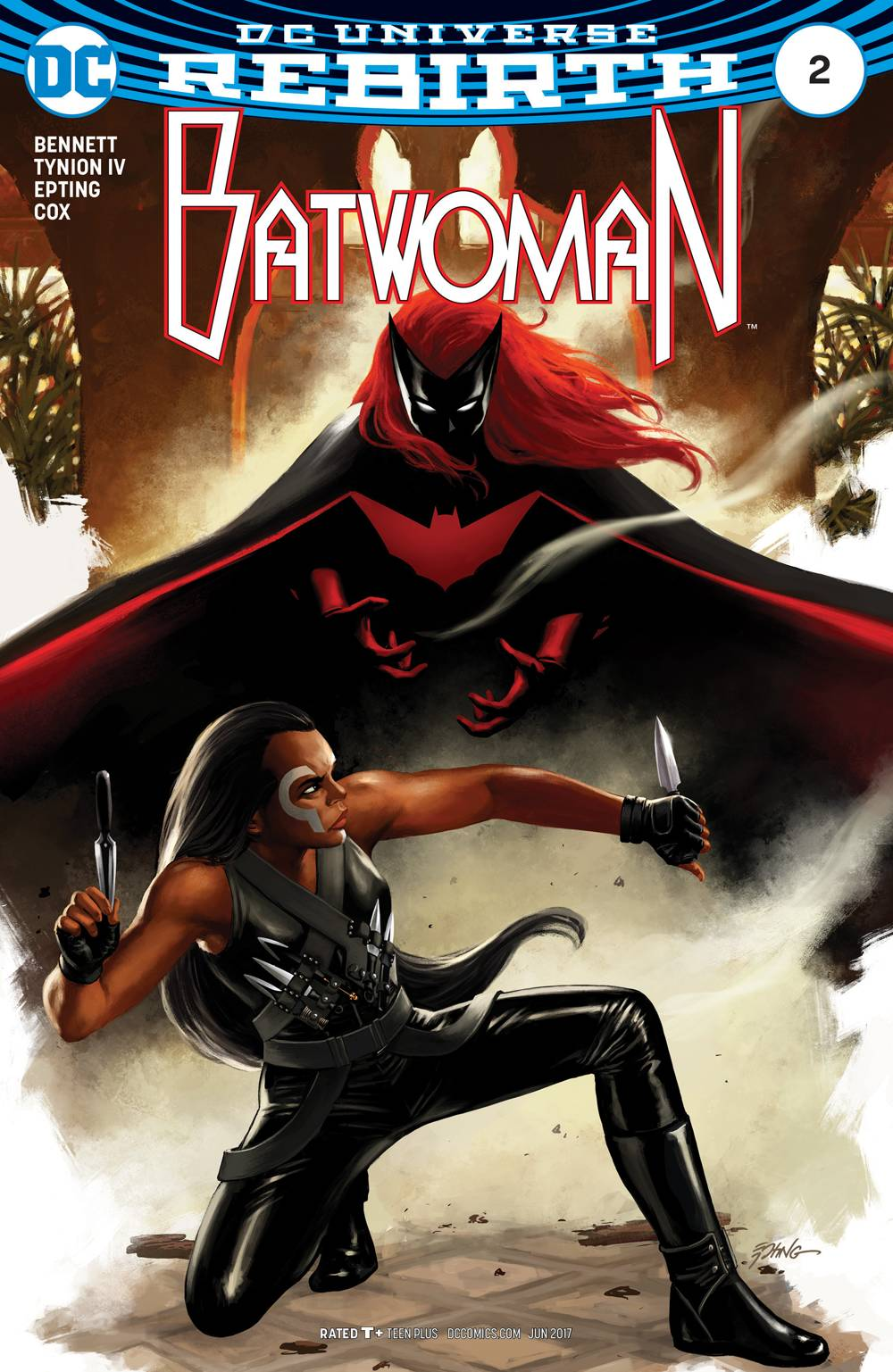 BATWOMAN #2 (NOTE PRICE)