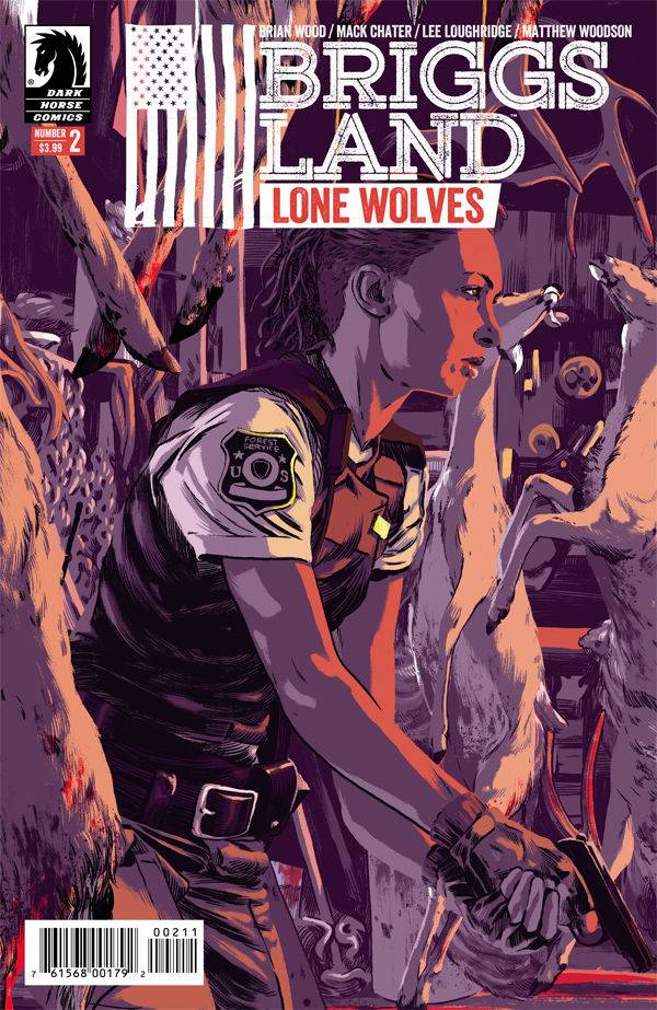 BRIGGS LAND LONE WOLVES #2 (OF 6)