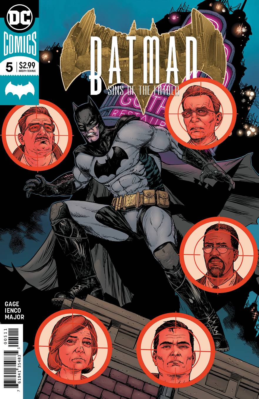 BATMAN SINS OF THE FATHER #5 (OF 6)