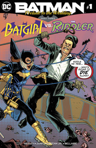 BATMAN PRELUDE TO THE WEDDING BATGIRL VS RIDDLER #1