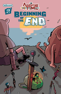 ADVENTURE TIME BEGINNING OF END #3 SUBSCRIPTION DAGUNA VAR (