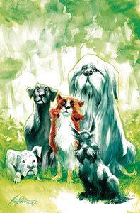 BEASTS OF BURDEN WISE DOGS & ELDRITCH MEN #1 (OF 4) VAR CVR