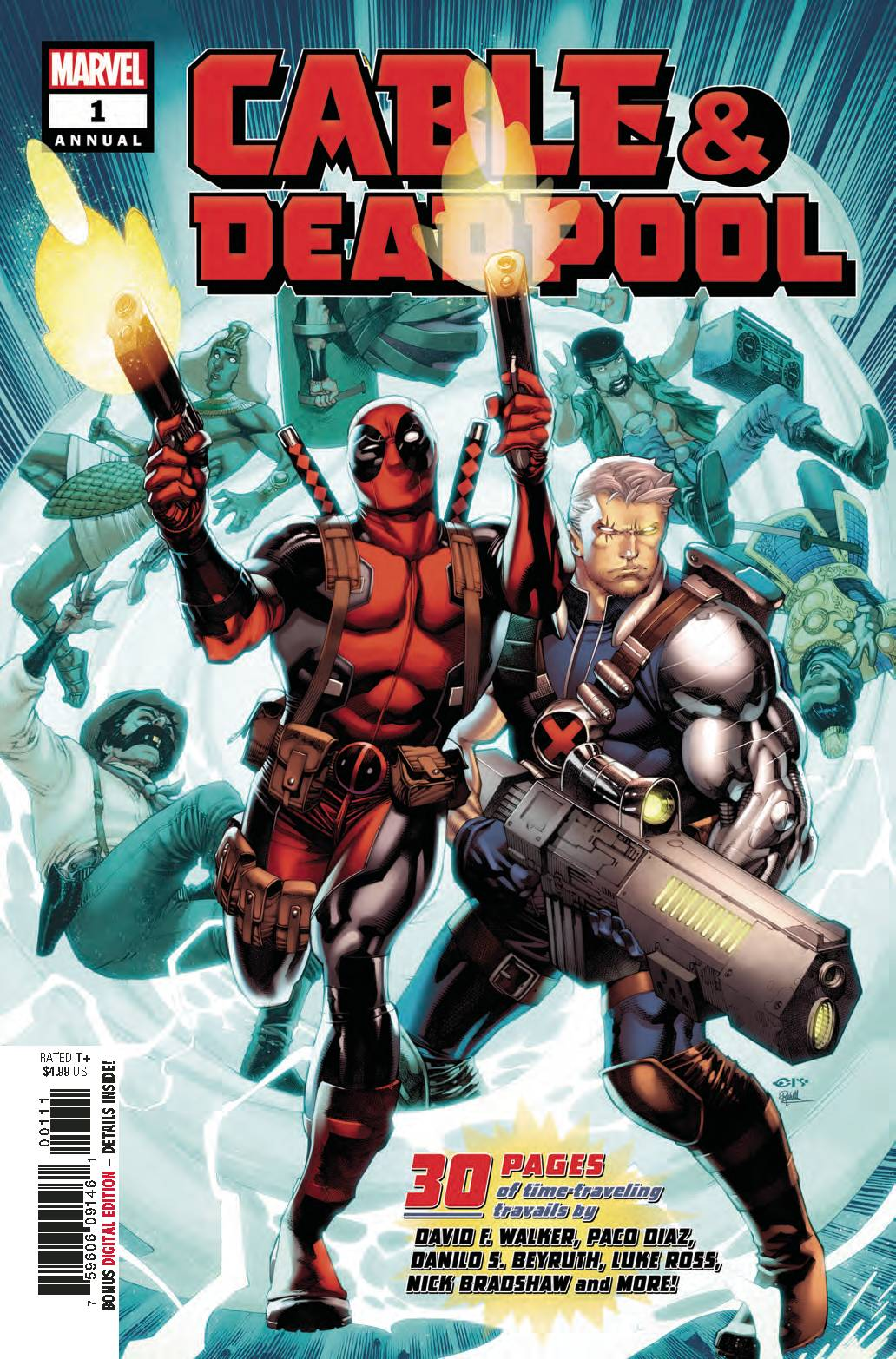 CABLE DEADPOOL ANNUAL #1
