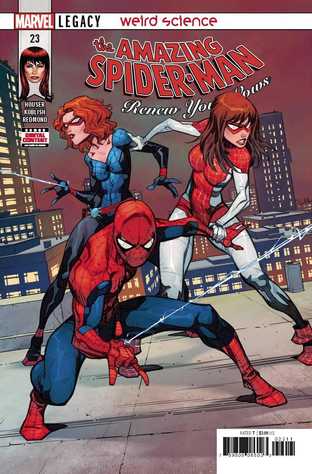 AMAZING SPIDER-MAN RENEW YOUR VOWS #23
