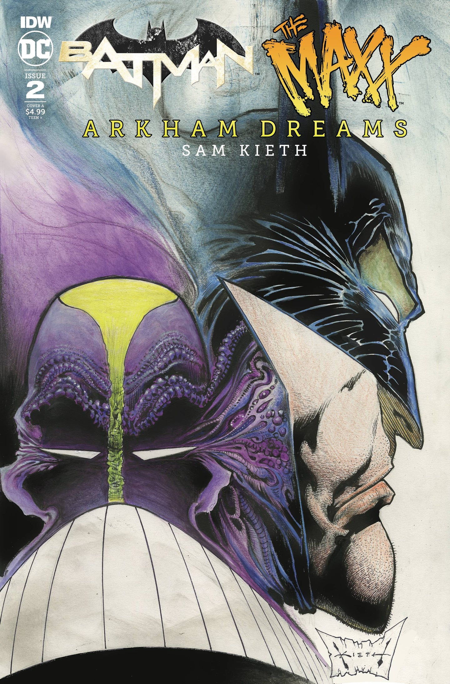 BATMAN THE MAXX ARKHAM DREAMS #2 (OF 5) CVR A KIETH