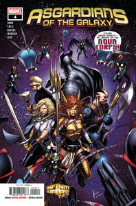 ASGARDIANS OF THE GALAXY #4