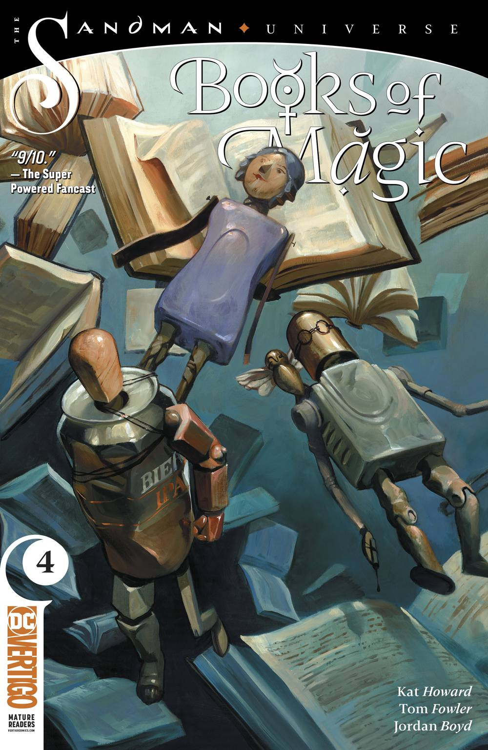 BOOKS OF MAGIC #4 (MR)