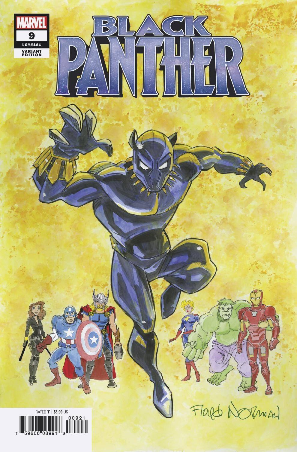 BLACK PANTHER #9 NORMAN VAR