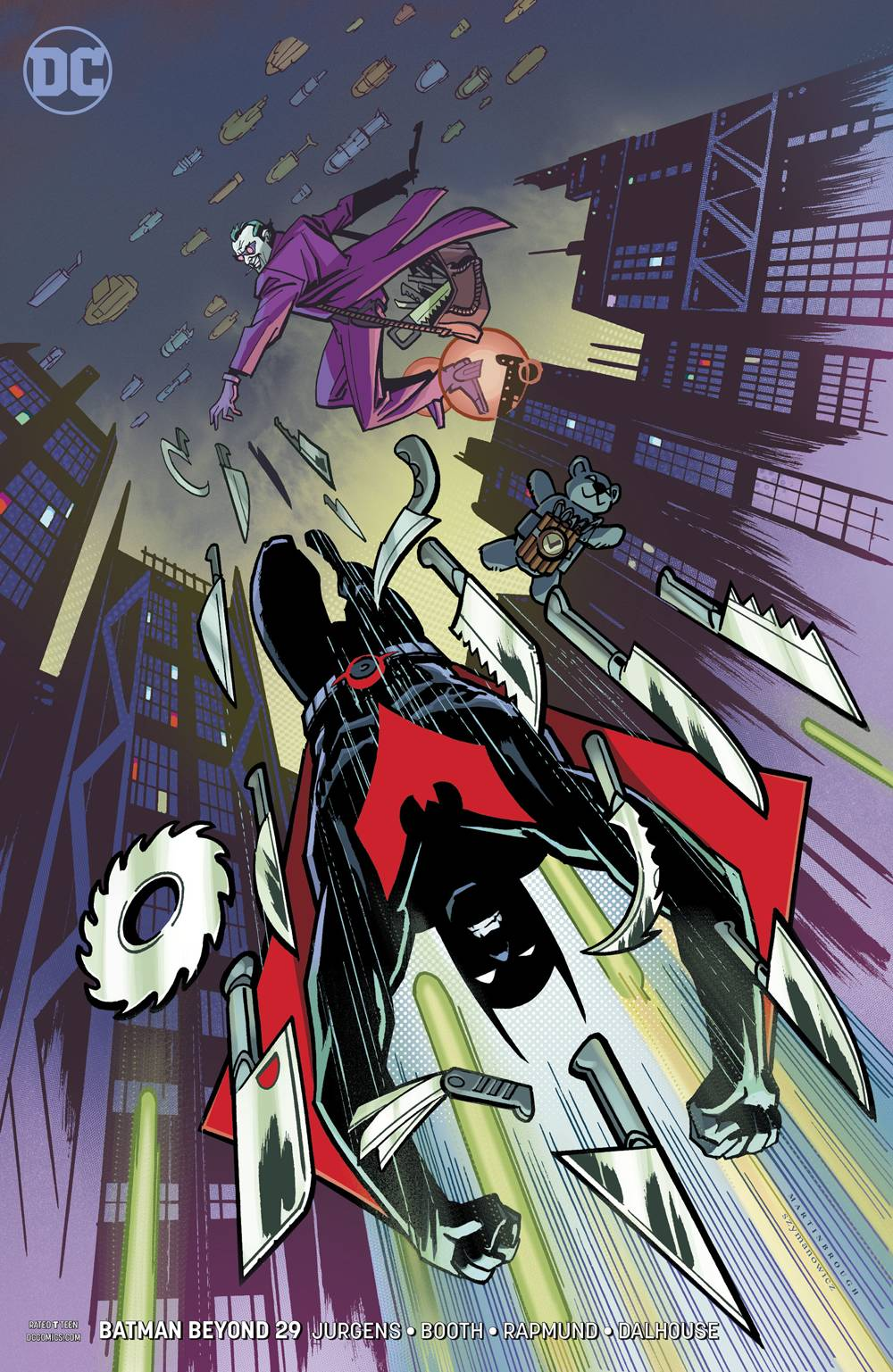 BATMAN BEYOND #29 VAR ED