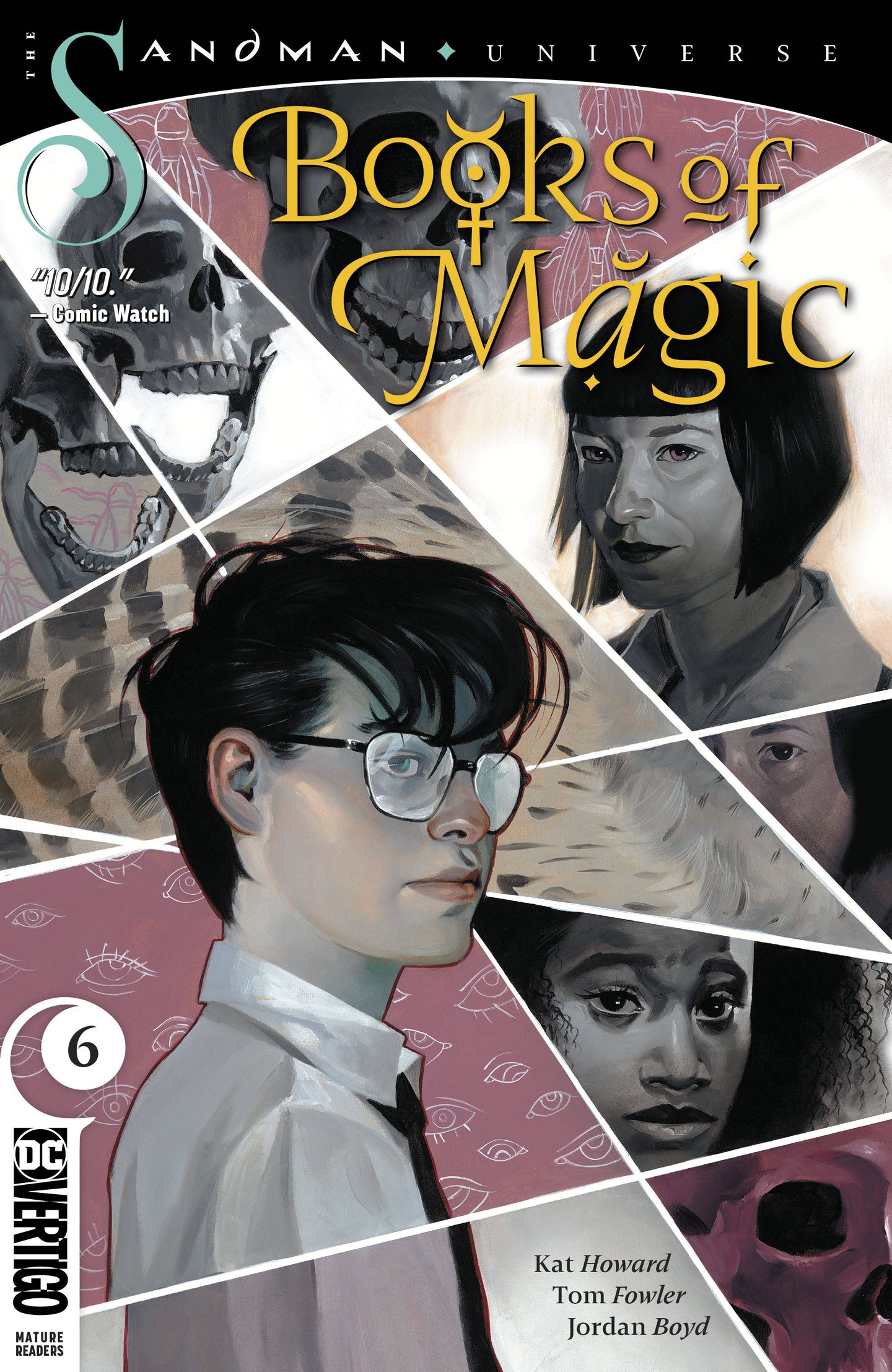 BOOKS OF MAGIC #6 (MR)