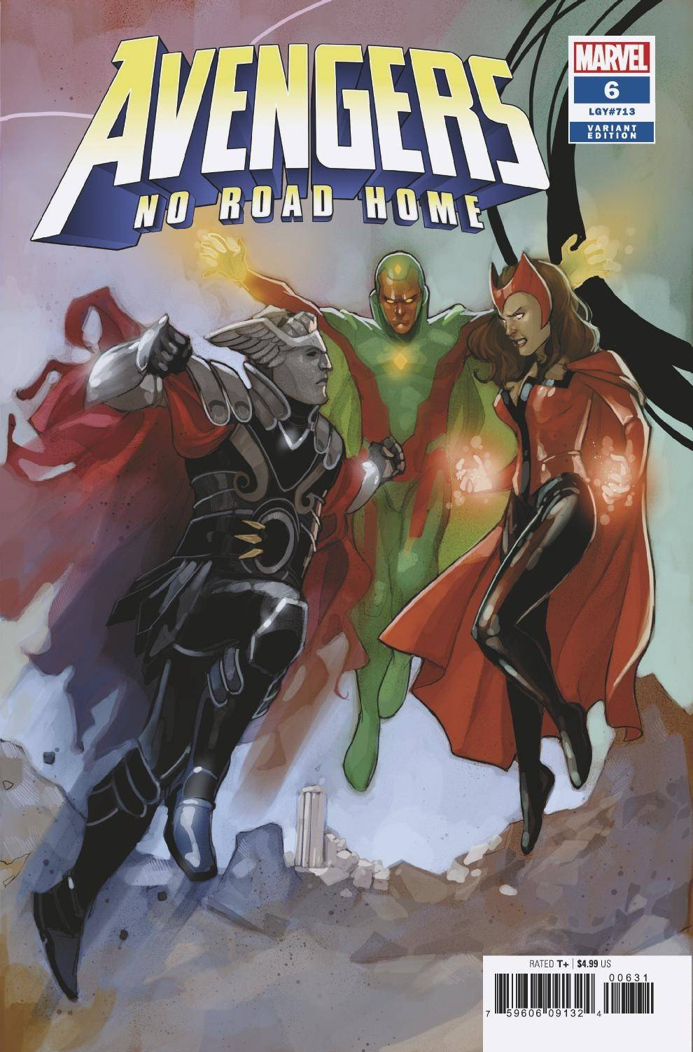 AVENGERS NO ROAD HOME #6 (OF 10) NOTO CONNECTING VAR