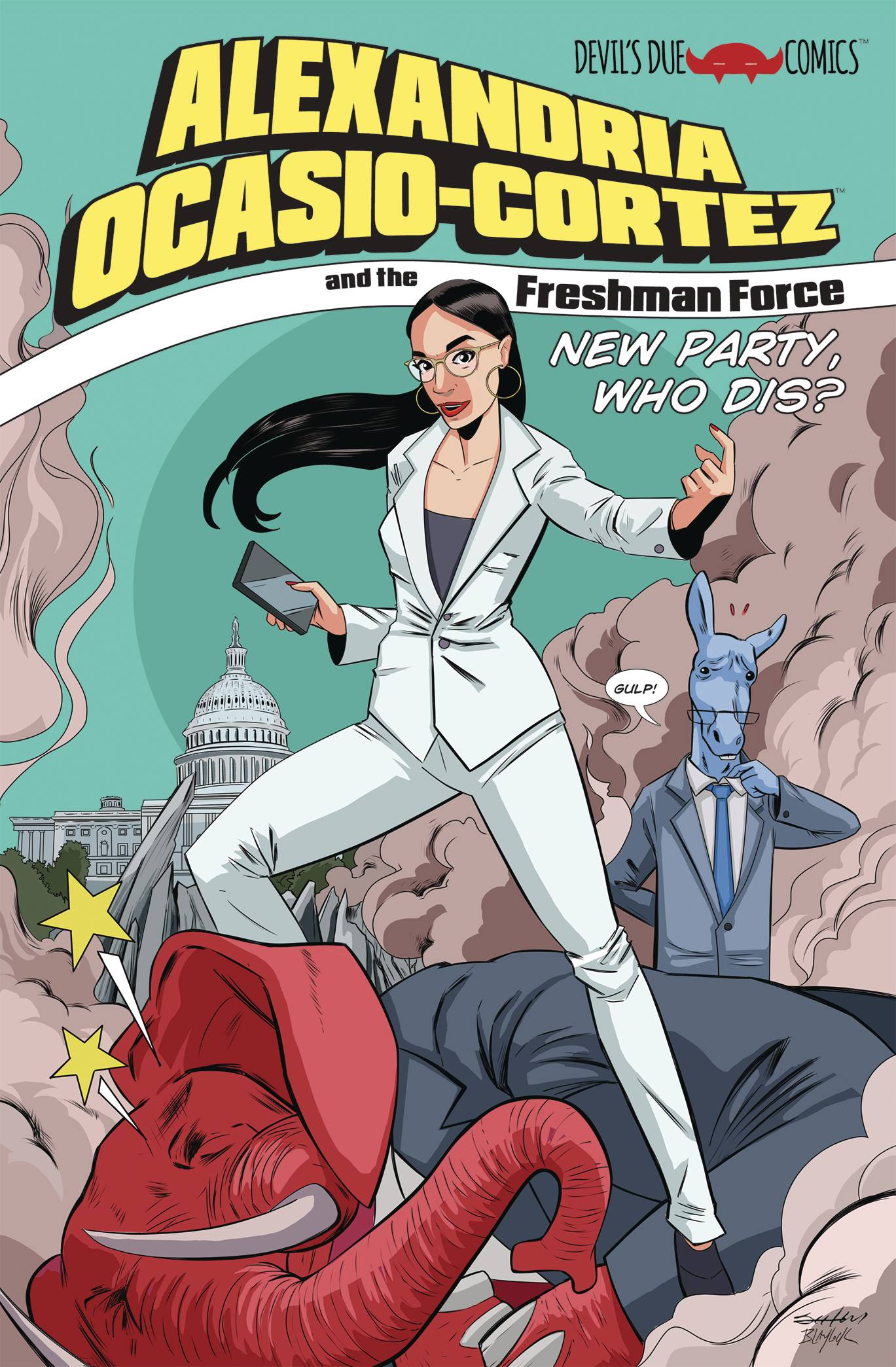 ALEXANDRIA OCASIO CORTEZ & FRESHMAN FORCE WHO DIS ONE SHOT