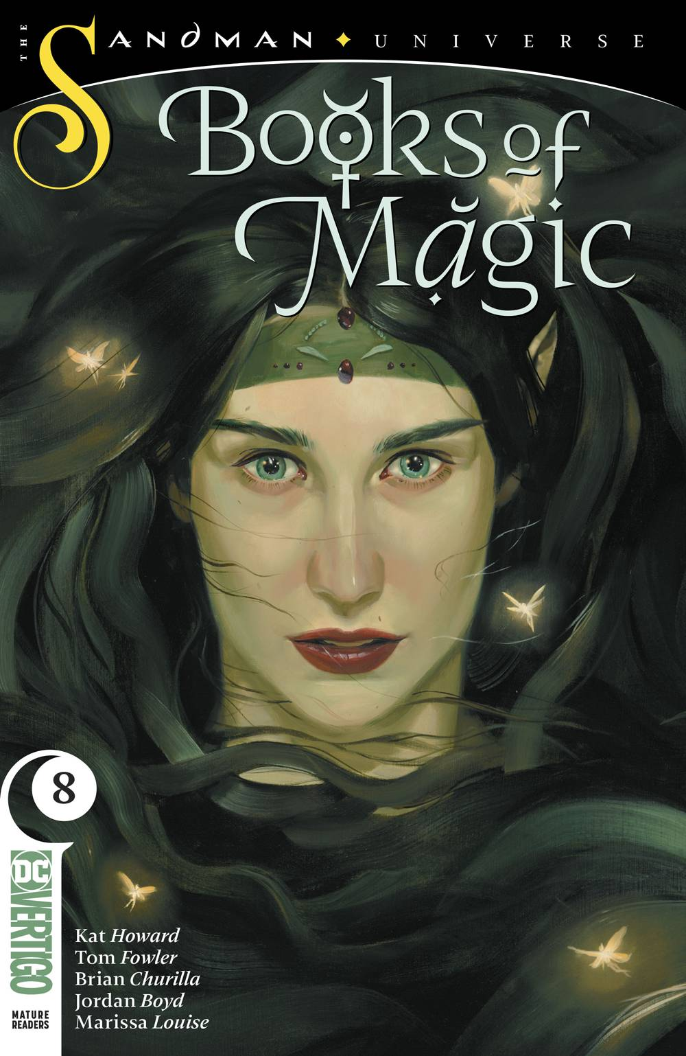 BOOKS OF MAGIC #8 (MR)