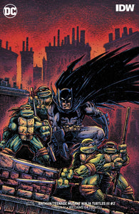 BATMAN TEENAGE MUTANT NINJA TURTLES III #2 (OF 6) VAR ED