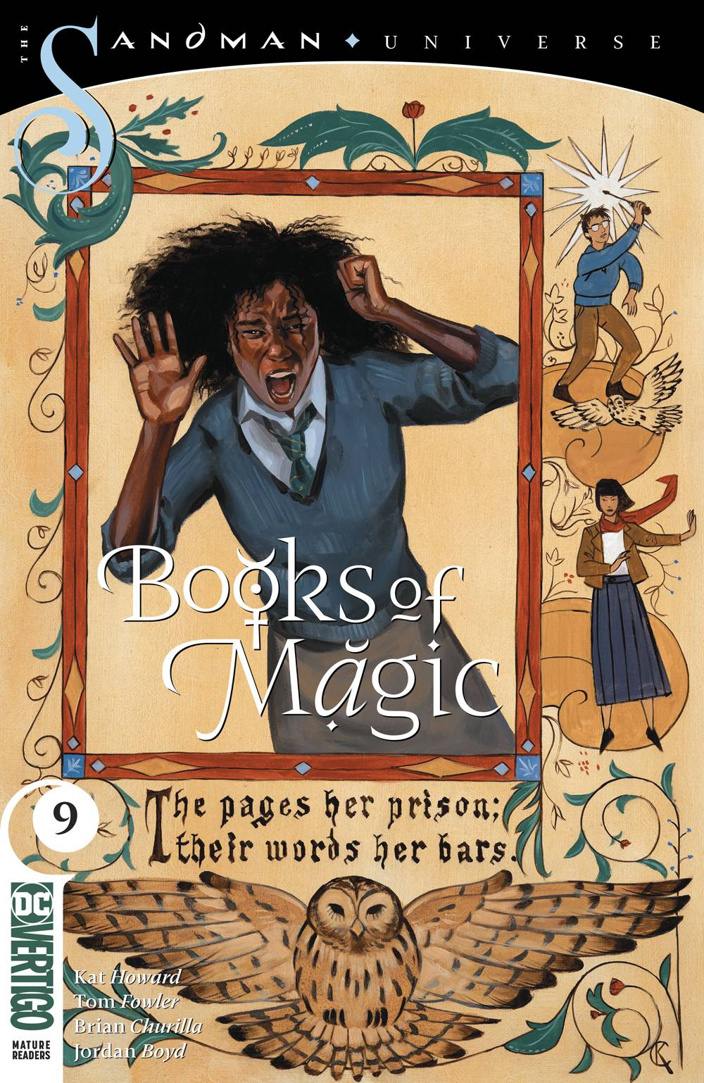 BOOKS OF MAGIC #9 (MR)