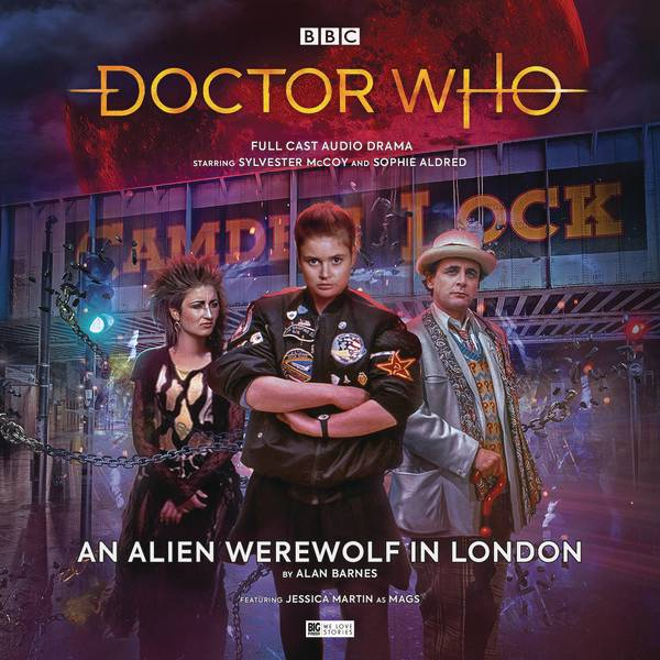 DOCTOR WHO 7TH DOCTOR ALIEN WEREWOLF IN LONDON AUDIO CD (C: