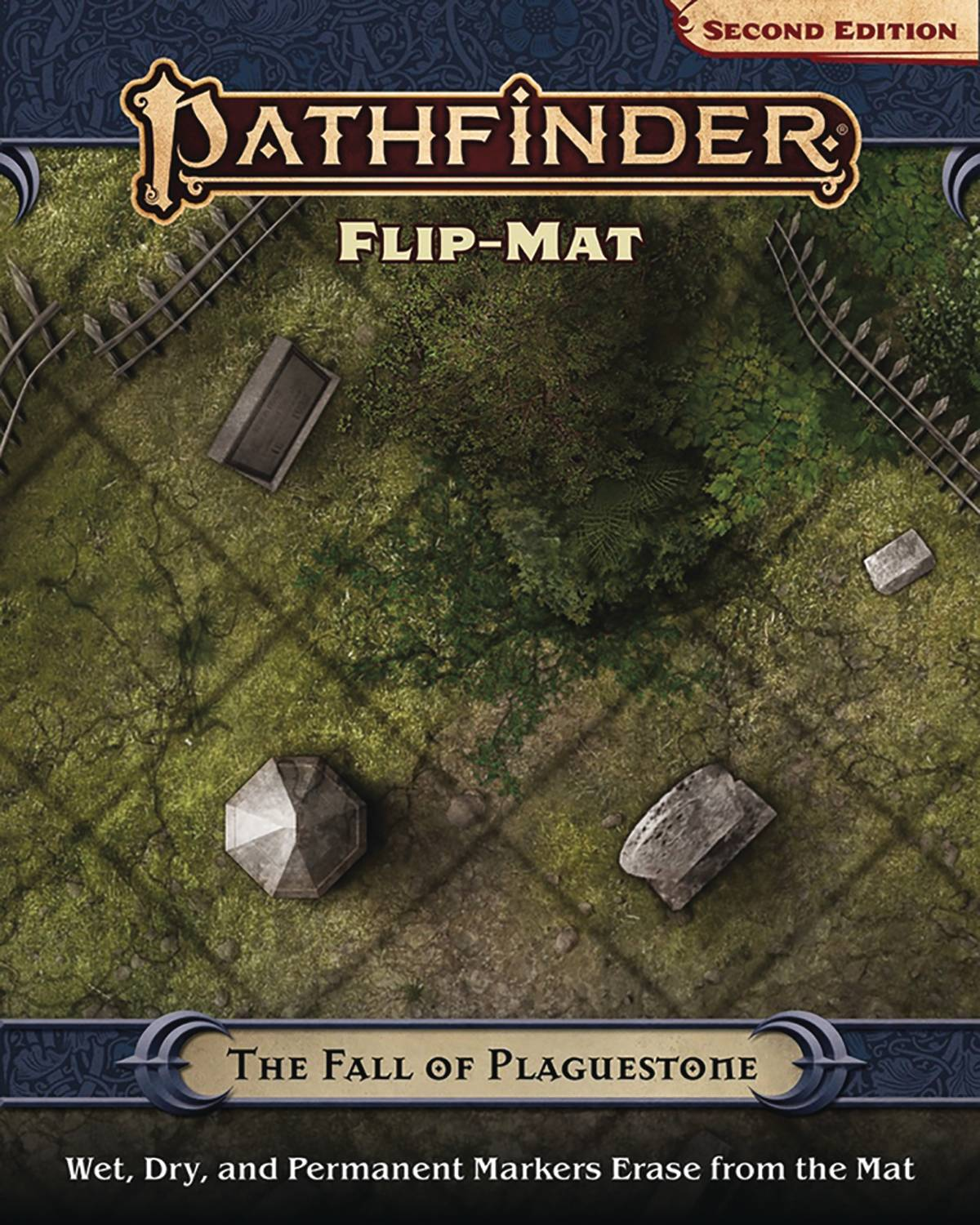 PATHFINDER FLIP MAT FALL OF PLAGUESTONE (P2)