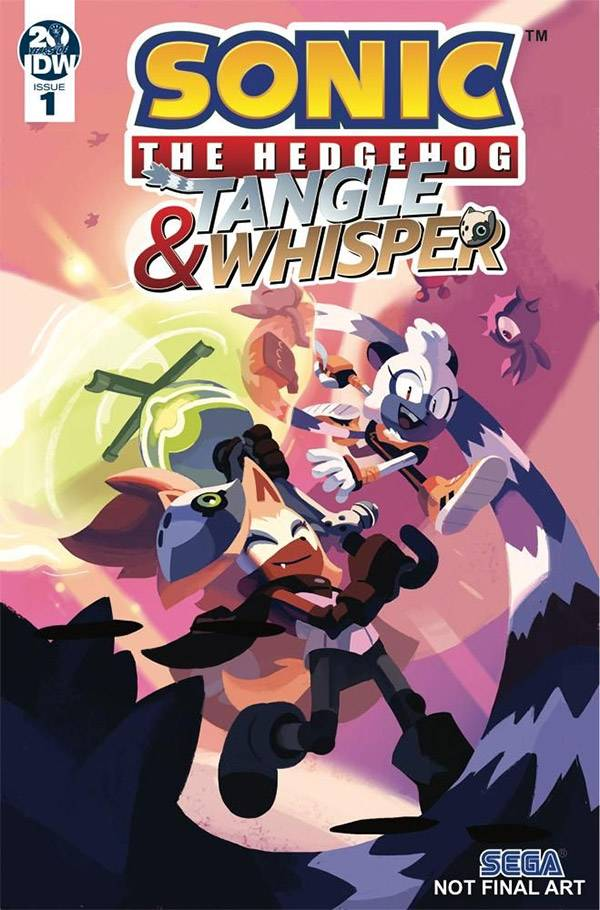 SONIC THE HEDGEHOG TANGLE & WHISPER #1 (OF 4) CVR A STANLEY