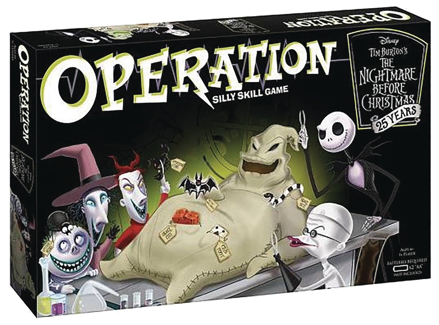 OPERATION NIGHTMARE BEFORE CHRISTMAS 25TH ANN BOARD GAME (C: