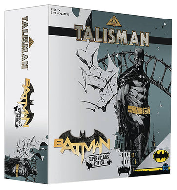 BATMAN TALISMAN BOARD GAME (C: 0-1-2)