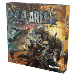 OP ARENA EPIC BATTLE ROYALE ABSURD PORPORTIONS BOARD GAME (C