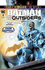 BATMAN AND THE OUTSIDERS #3 YOTV THE OFFER