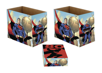 DC SUPERMAN 80 SHORT COMIC STORAGE BOX