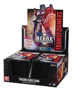 TRANSFORMERS TCG SEIGE BOOSTER DIS (30CT) (C: 0-1-2)