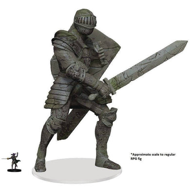 D&D ICONS REALM MINIATURES WALKING STATUE WATERDEEP KNIGHT (
