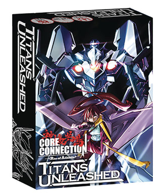 CORE CONNECTION DECK BUILDING GAME TITANS EXP (C: 0-1-2)